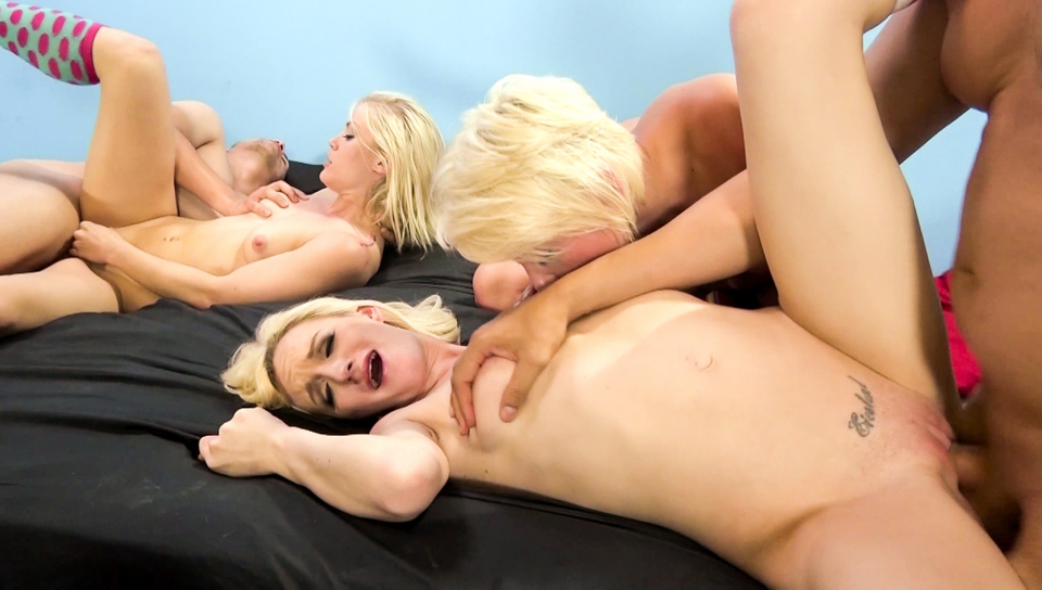 Ash Hollywood, Winter Marie And Skylar Green
