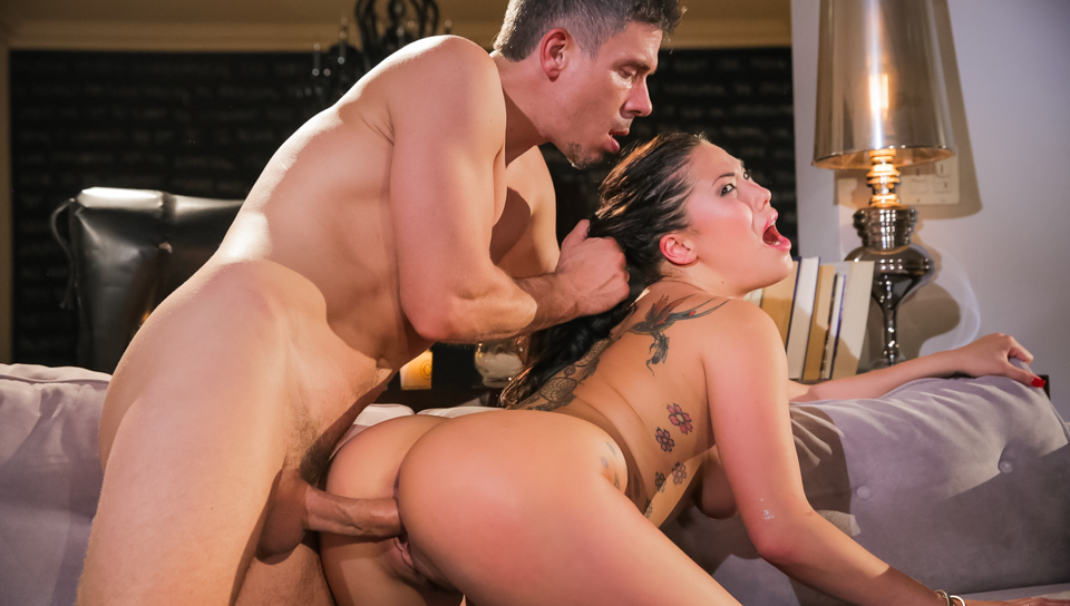 Big Tit Asian London Keys Takes a Hard Drilling