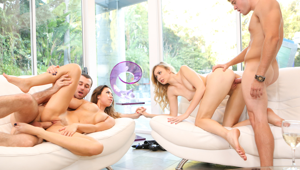 James Deen & Alexa Grace & Melissa Moore - More Than Friends, Episode 4