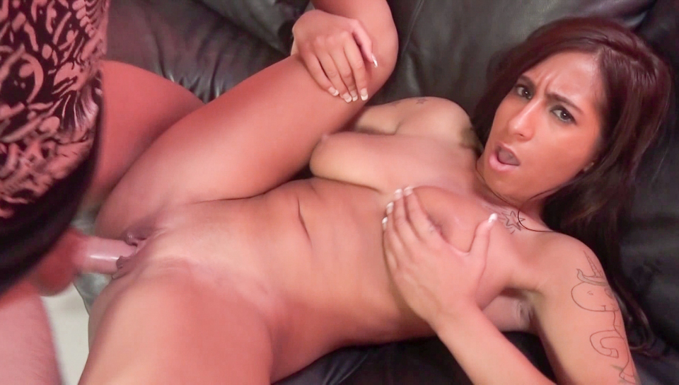 Stacy's Massive Natural Tits Part 1