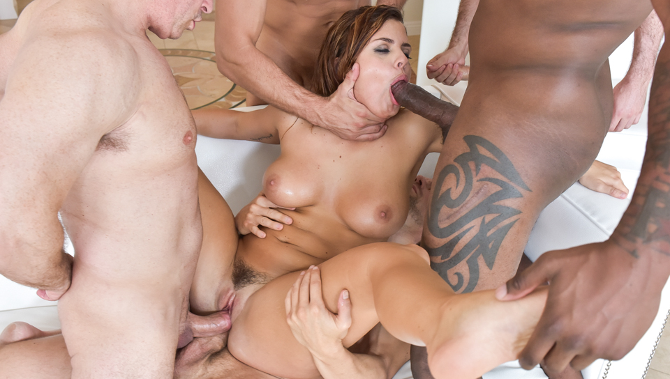 James Deen & Mick Blue & John Strong - 's 1st Gangbang