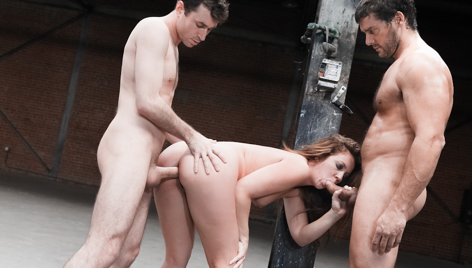 James Deen & Ramon Nomar & Maddy O'Reilly - Maddy's 2nd Anal