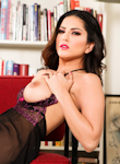 0 Babe Movies - Sunny Leone masturbates after stripping in erotic solo video