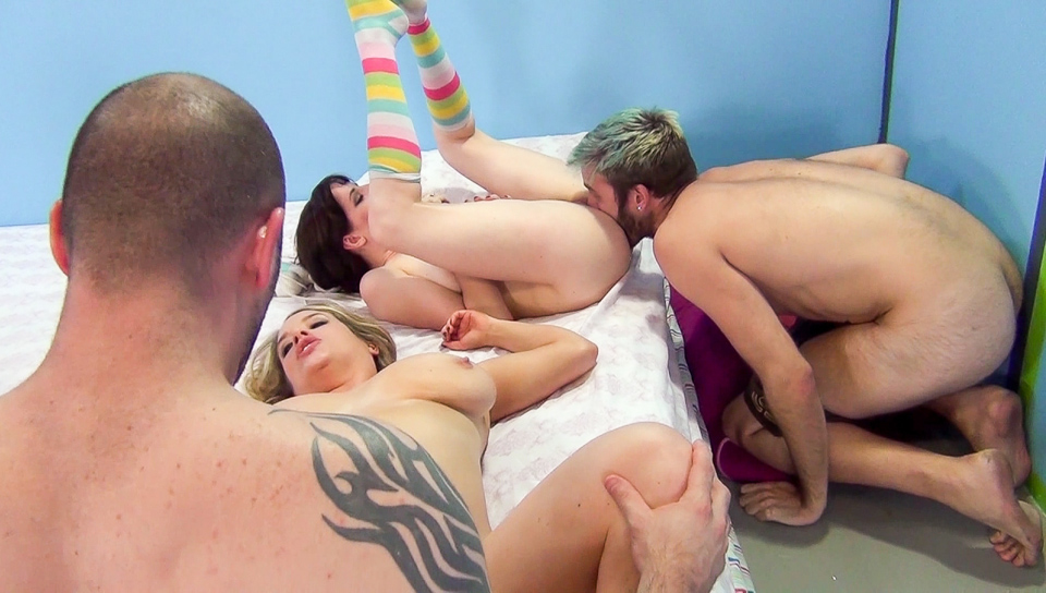 Maggie Green, Samantha Bentley And Charlyse Angel